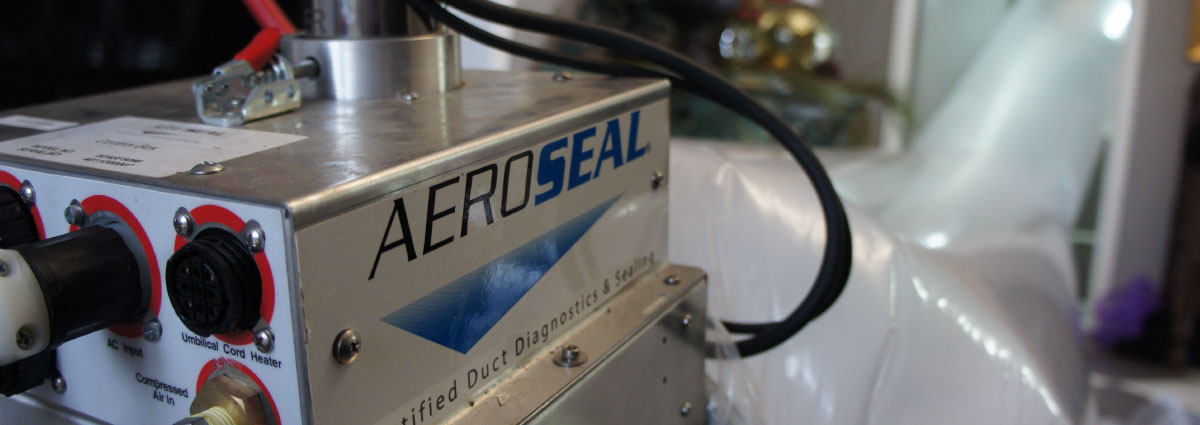 Breathe easier with Aeroseal sealant.