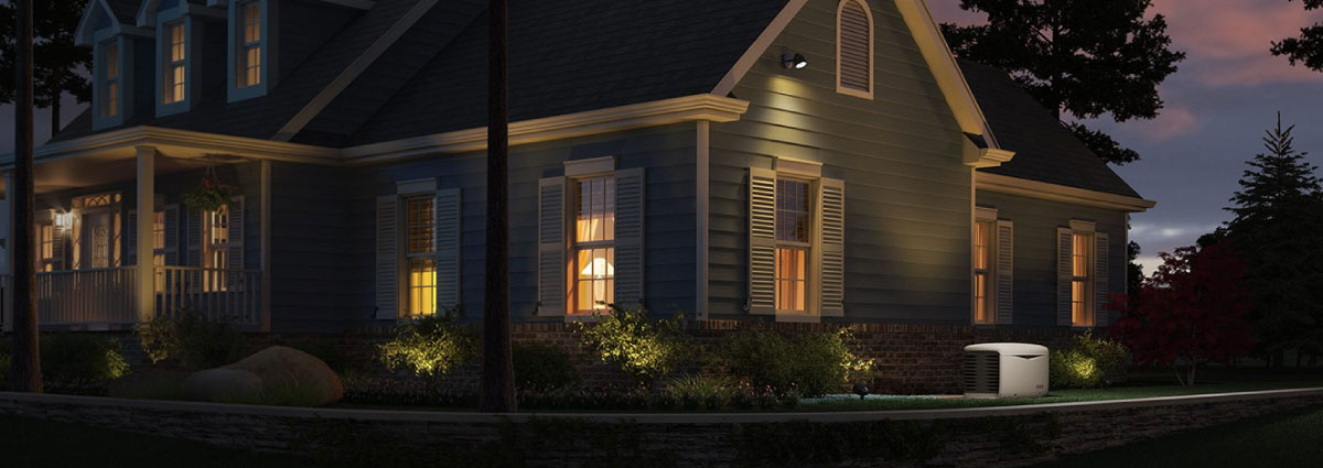 A Kohler Standby Generator will keep your home powered through an outage!