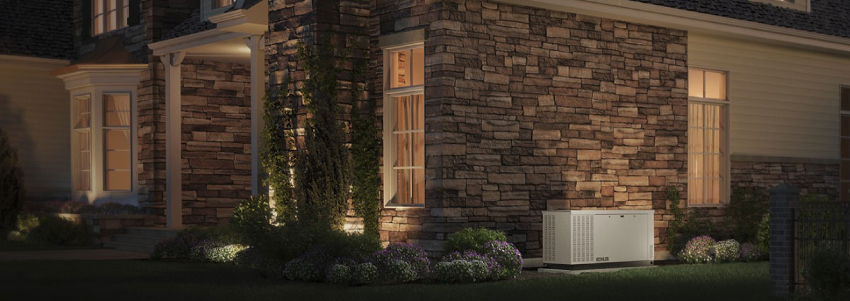 Keep the lights on through a power outage with a Standby Generator from Kohler.