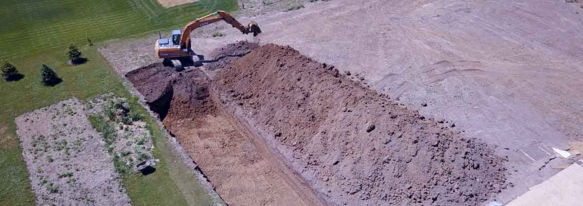 Do you need trenching, boring, or locating services? Call us today if you need Groundwork services.