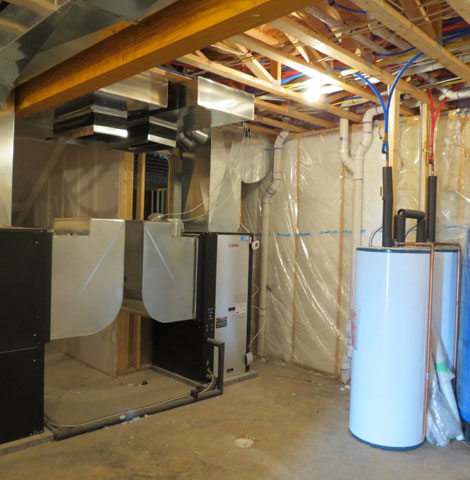 Geothermal system installation