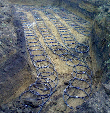 Geothermal Loop Installation